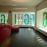 Erdgeschoss mit Infothek