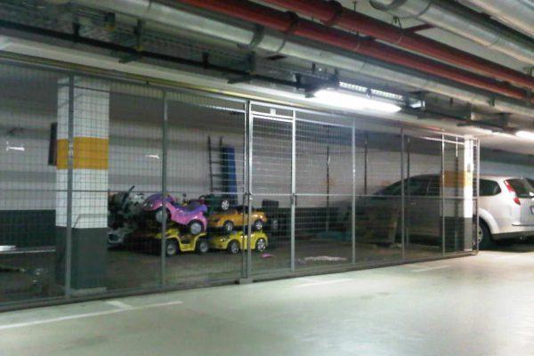 CMS Fahrzeugflotte sicher geparkt