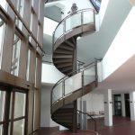 Treppe im Foyer des Amtsgerichts