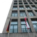 Turmfassade Mühlheimer Straße