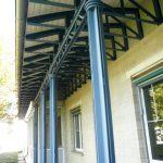 Bahnsteig oder Vordach