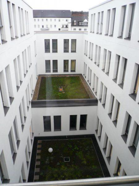 Innenhof im Neubau
