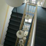 Treppenhaus im Anbau