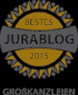 Bestes Jurablog 2015 - Großkanzleien