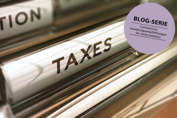 Corona Steuer Haftung