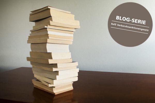 Verbandssanktionengesetz, Kritik, Referentenentwurf