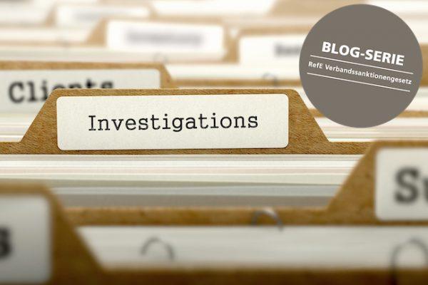 Interne Untersuchung VerSanG-E