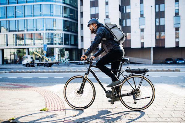 Arbeitsmittel Fahrradkurier